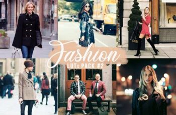 Fashion LUTs Pack #2 - Video&Photo Color Grading UL88CCT 2