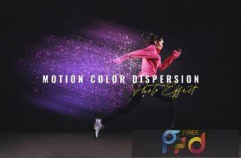 Motion Color Dispersion Photo Effect VSU8DGA 7
