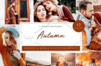 12 x Lightroom Presets, Autumn 5960320 3