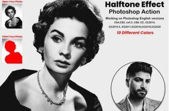 Halftone Effect Photoshop Action 5855540 15