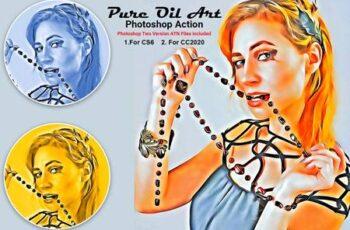 Pure Oil Art Photoshop Action 5323610 14