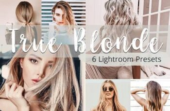 True Blonde - Lightroom Presets Pack 5923591 6