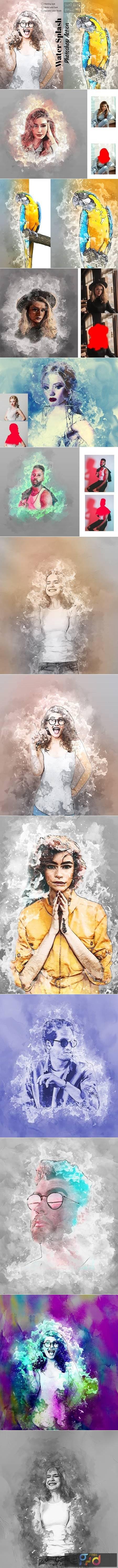 Water Splash Photoshop Action 5853025 1