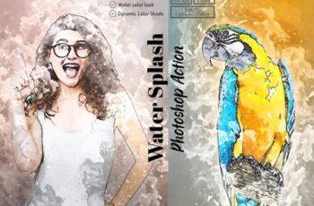 Water Splash Photoshop Action 5853025 12