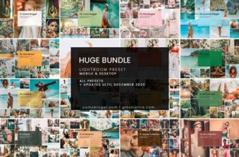 HUGE Bundle Presets (108 Packs) 4680407 8