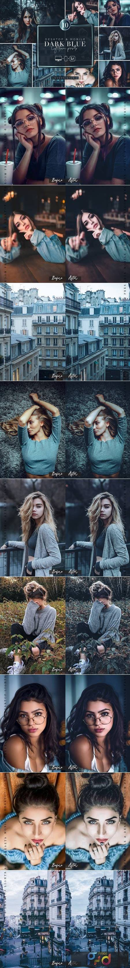 DARK BLUE - Lightroom Presets 6015455 1