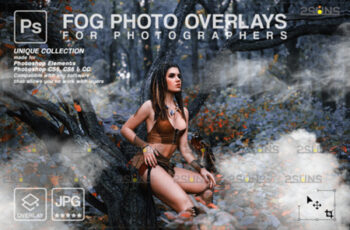 Photoshop Overlay- Fog Overlay, Smoke 8561231 4