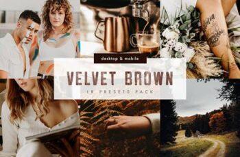 Velvet Brown Lightroom Presets Pack 5999802 7