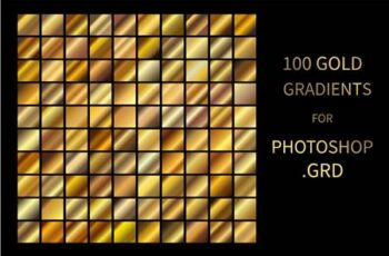 Gold Gradients for Photoshop GRD 5915141 16