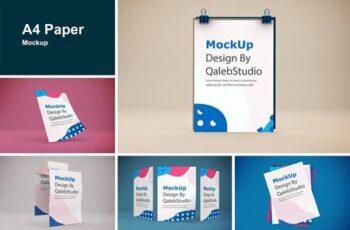 A4 Paper Mockup CA9NR3X 5