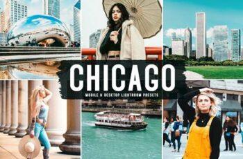 13 Chicago Mobile & Desktop Lightroom Presets S2ZDVYH 7