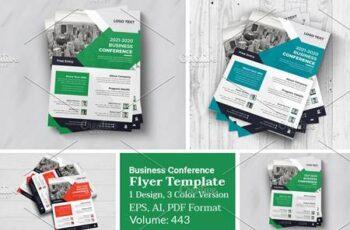 Business Conference Flyer Design 5990444 12