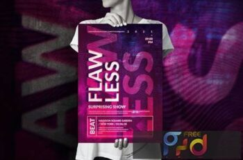 Art Music Event - Big Poster Design SUXUKKQ 2