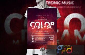 Art Music Event - Big Poster Design WYVQ26N 1