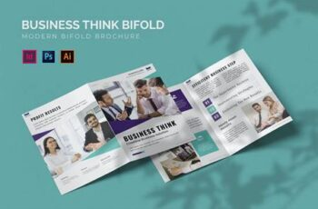 Business Think - Bifold Brochure TQ8X29N 16