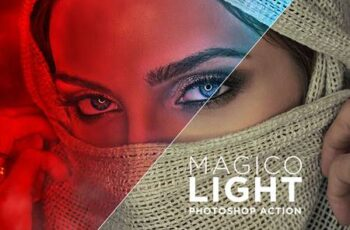 Magico Light Photoshop Action 8NN6DNU 15