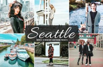 Seattle Mobile & Desktop Lightroom Presets P2MBEUH 5