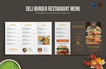 Deli Burger - Restaurant Menu PRDNENU 2