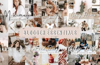 BLOGGER LIGHTROOM PRESETS BUNDLE 5989563 3