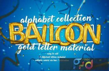 Foil Balloon Letters Set DLUHQVA 11