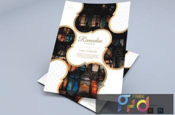 Happy Ramadan - Flyers Design CL57HY9 7