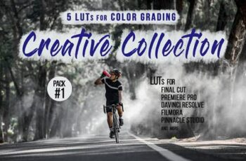 Creative LUTs Pack - Video color grading filters DBNBTQW 7
