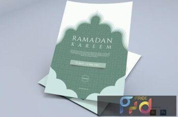 Ramadhan Kareem - Flyers Design 3VTFBAD 2