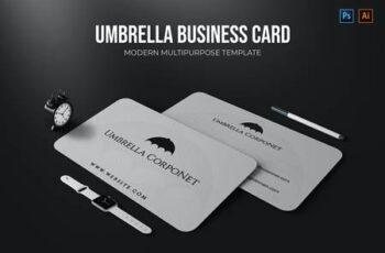 Umbrella Corponet - Business Card AHL3GV9 4