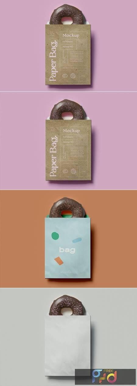 Bag And Donut Mockup P7KHB2H 1
