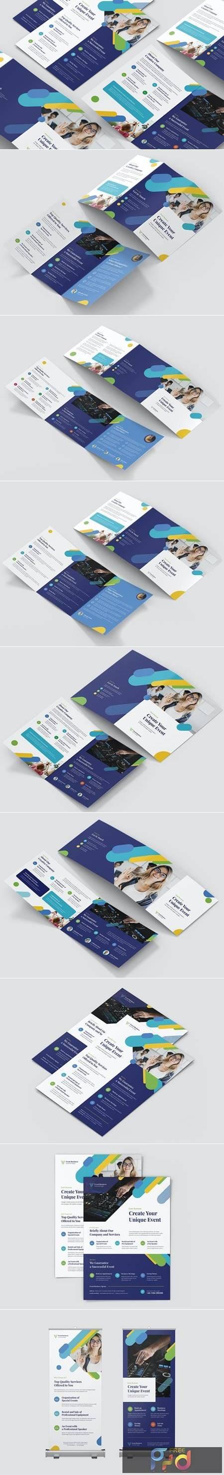 Event Business – Brochures Bundle Print Templates 22G42YT 1