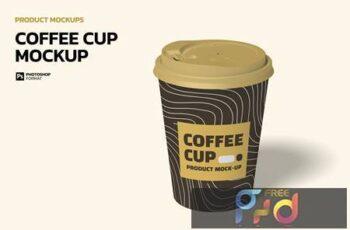 Coffee Cup - Mockup 5NJFSJX 2
