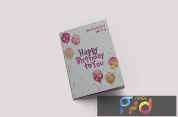 Greeting Card Mockup PSR7XWG 14