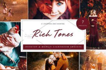 7 x Lightroom Presets, Rich Tones 5962684 11