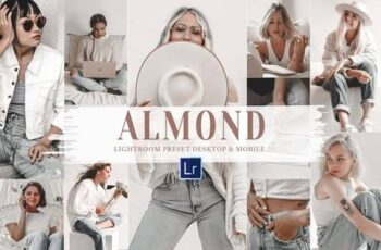 10 Almond Mobile & Lightroom Presets 5956379 9