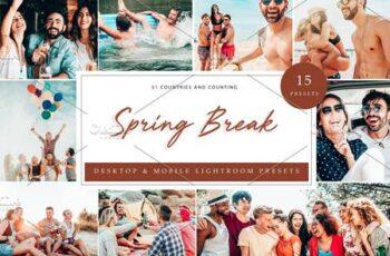 15 x Lightroom Presets Spring Break 5962694 2