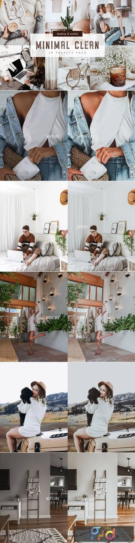 Minimal Clean Lightroom Presets Pack 6018691 1