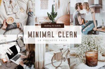 Minimal Clean Lightroom Presets Pack 6018691 7