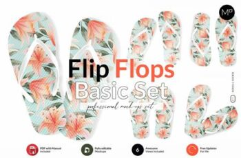 Flip Flops Basic Set Mock-ups 6018077 1