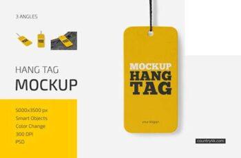 Hang Tag Mockup Set 6033710 4