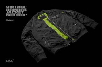 Vintage Bomber Jacket Mockup 5917217 6