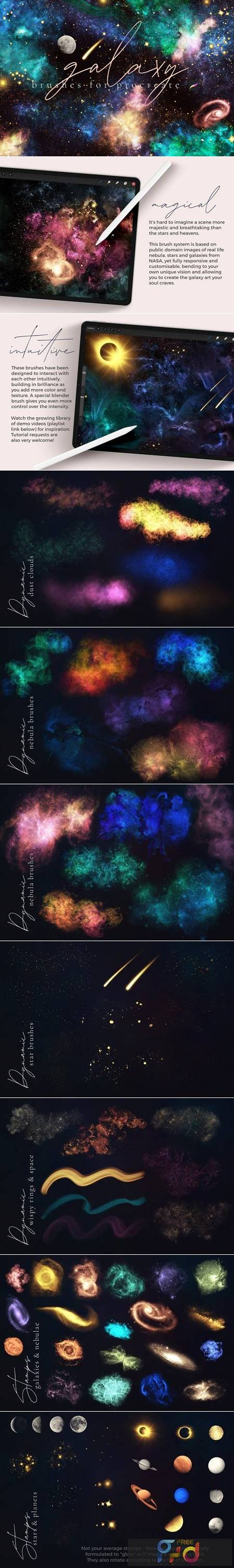 Galaxy Brushes for Procreate 5992272 1