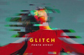 RGB Glitch Photo Effect LPEE2GP 4