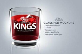 Glass Logo PSD Mockups Y6NNRJ6 9