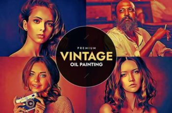 Vintage Oil Painting 6022215 3