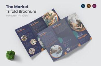 Market Strategies Trifold Brochure X75GVU7 7