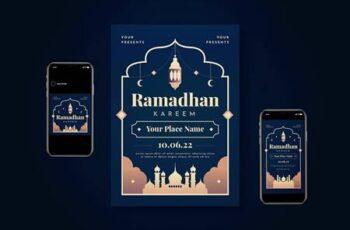 Ramadhan Kareem Flyer Set DDL7HHS 7