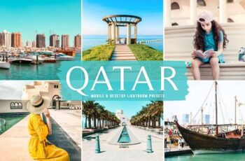 Qatar Mobile & Desktop Lightroom Presets YCSHFK4 5