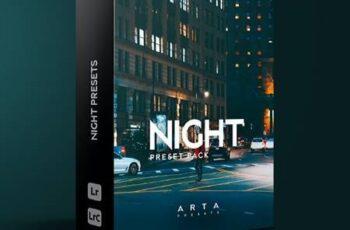 ARTA Presets - Night - For Mobile and Desktop Lightroom 30701667 6