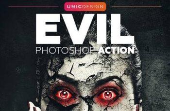 Evil Photoshop Action 20775590 5