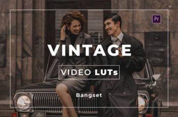 Bangset Vintage Video LUTs ZEHYYLK 3